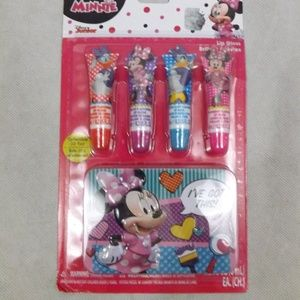 NEW Disney Minnie Mouse Lip Gloss Set